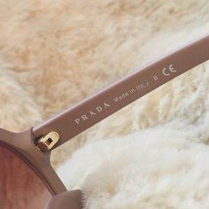 Prada Accessories - PRADA Hexagonal Angular Oversized Sunglasses